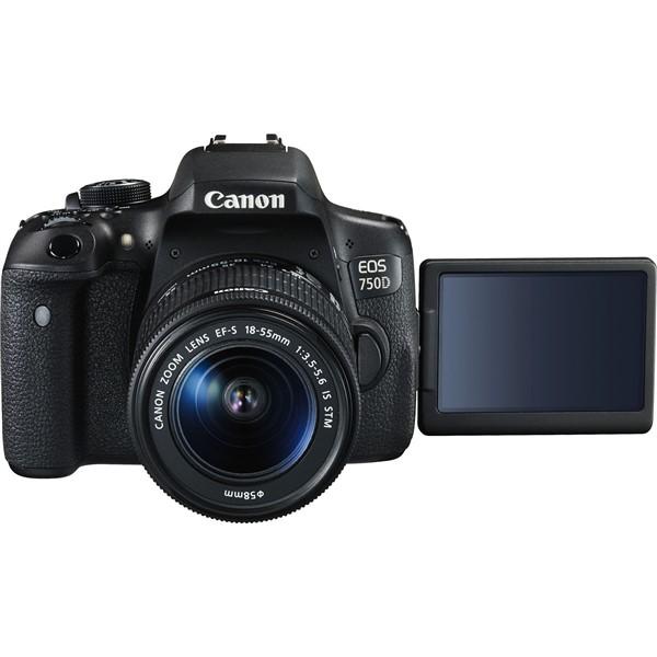 Cel mai bun aparat foto DSLR entry-level Canon EOS 750D