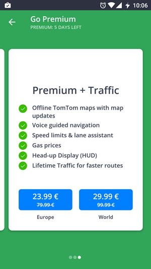 gps auto sau aplicatie GPS in smartphone Sygic optiuni cotra cost