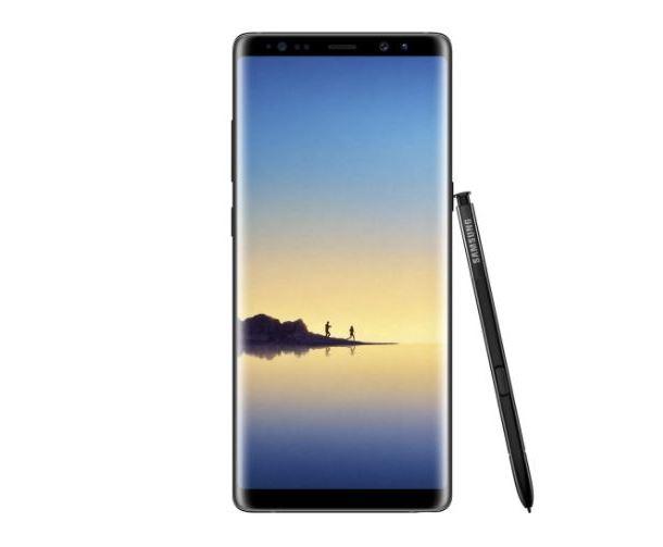 Samsung Galaxy Note 8 review foto fata