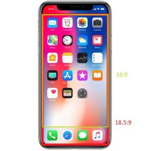 iPhone X - ecran