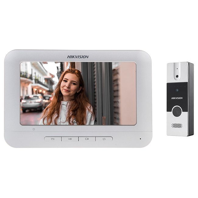 Cel mai bun interfon video - Hikvision DS-KIS202