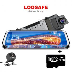 Cea mai buna camera auto oglinda - Loosafe™ RoadTeam H12