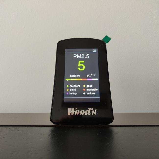 Monitor calitate aer - Woods AQM001