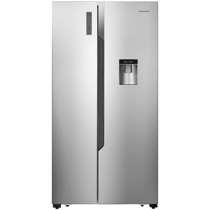 Cel mai bun frigider side by side - Heinner HSBS-520NFXWD+