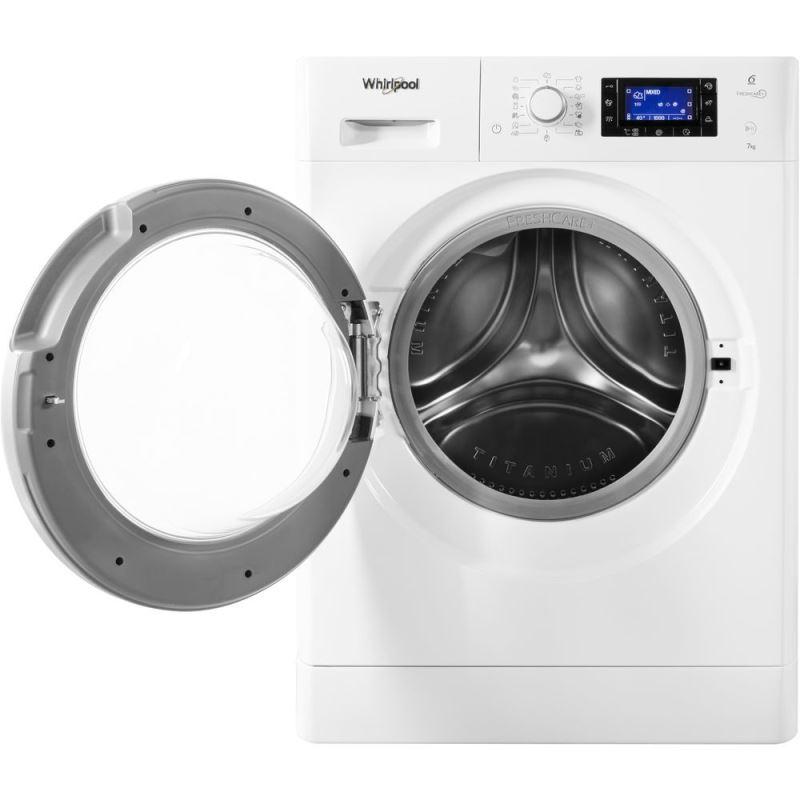 Masini de spalat rufe bune - Whirlpool FreshCare+ FWSD71283WS EU