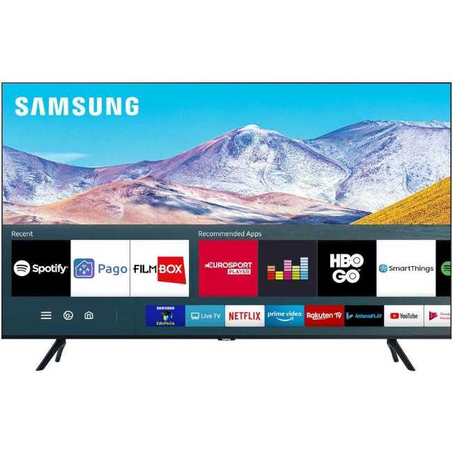 Cel mai bun televizor Samsung 43TU8072