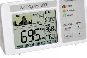 Cel mai bun monitor de calitate a aerului - AIRCO2NTROL 5000