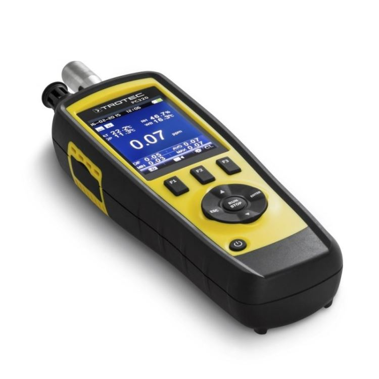 Cel mai bun monitor de calitate a aerului - TROTEC PC220