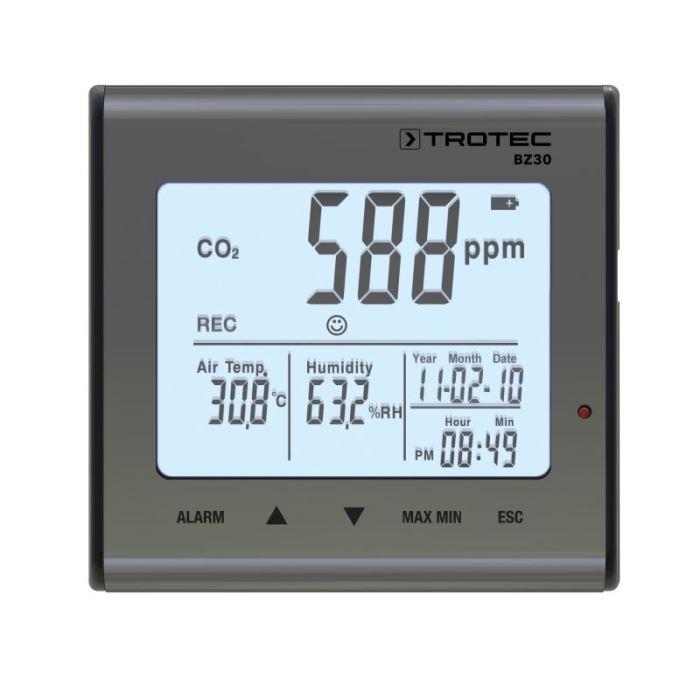 Cel mai bun monitor de calitate a aerului - Trotec BZ30