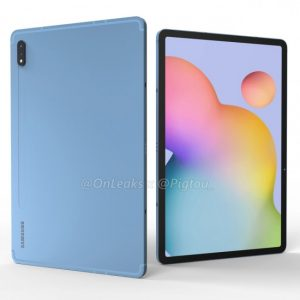 Samsung Galaxy Tab S7 foto onleaks