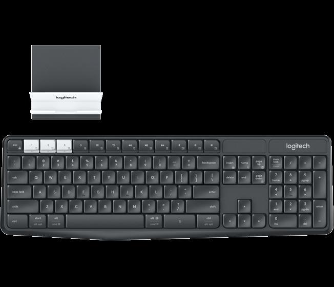 Cea mai buna tastatura wireless - Logitech K375s