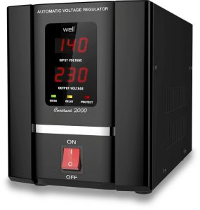 Cel mai bun stabilizator de tensiune - Well Constant 2000