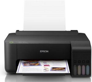 Imprimanta color cu cartuse si cerneala ieftina Epson EcoTank L1110